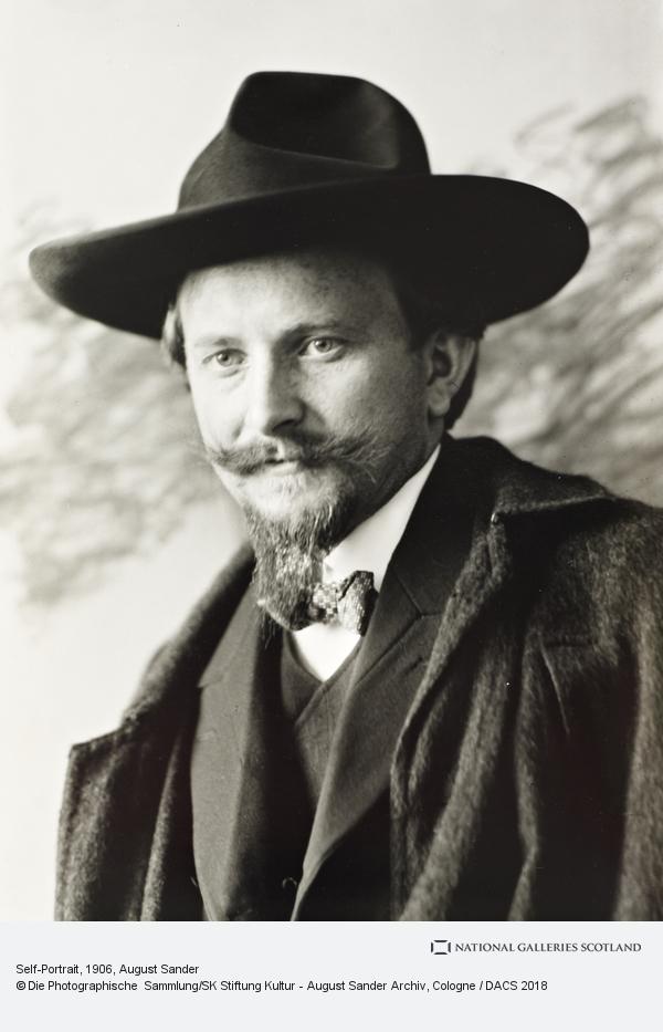 August Sander, Self-Portrait