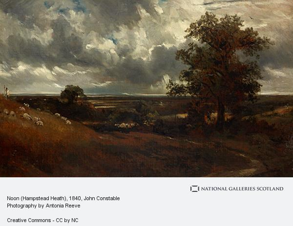John Constable, Noon (Hampstead Heath)