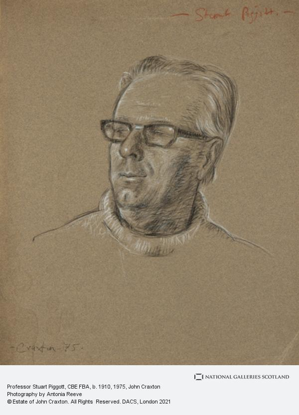 John Craxton, Professor Stuart Piggott, CBE FBA, b. 1910