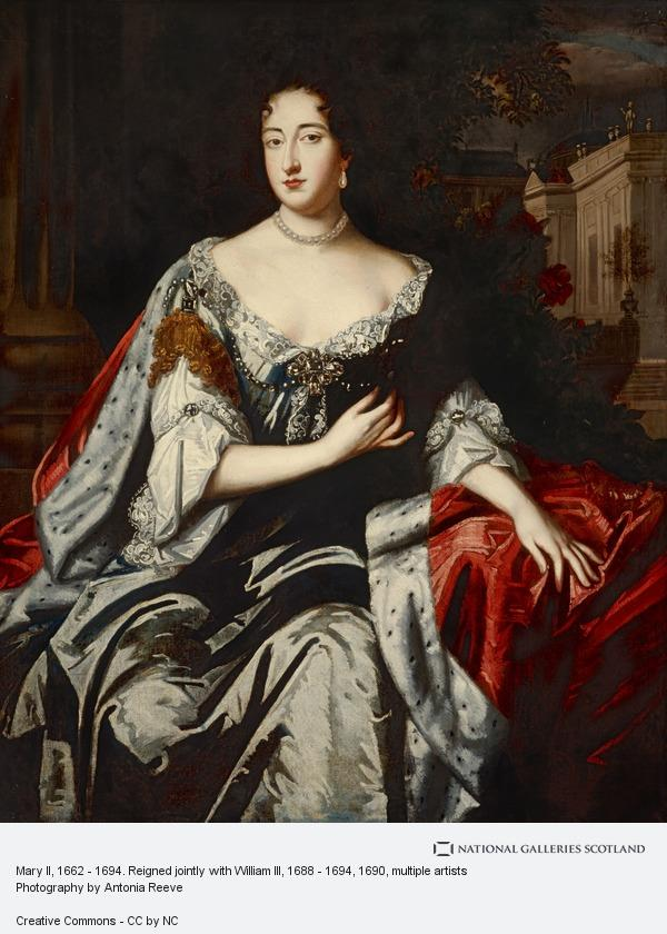 Unknown, Mary II, 1662 - 1694. Reigned jointly with William III, 1688 - 1694