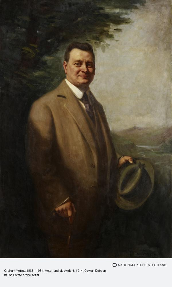 Cowan Dobson, Graham Moffat, 1866 - 1951. Actor and playwright