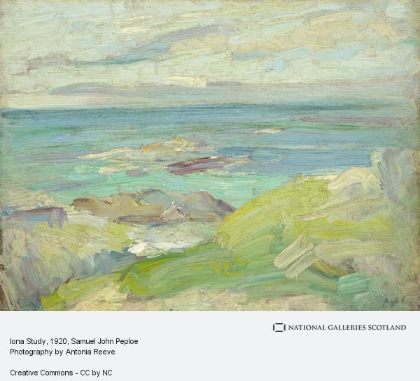 Samuel John Peploe, Iona Study (1920s)