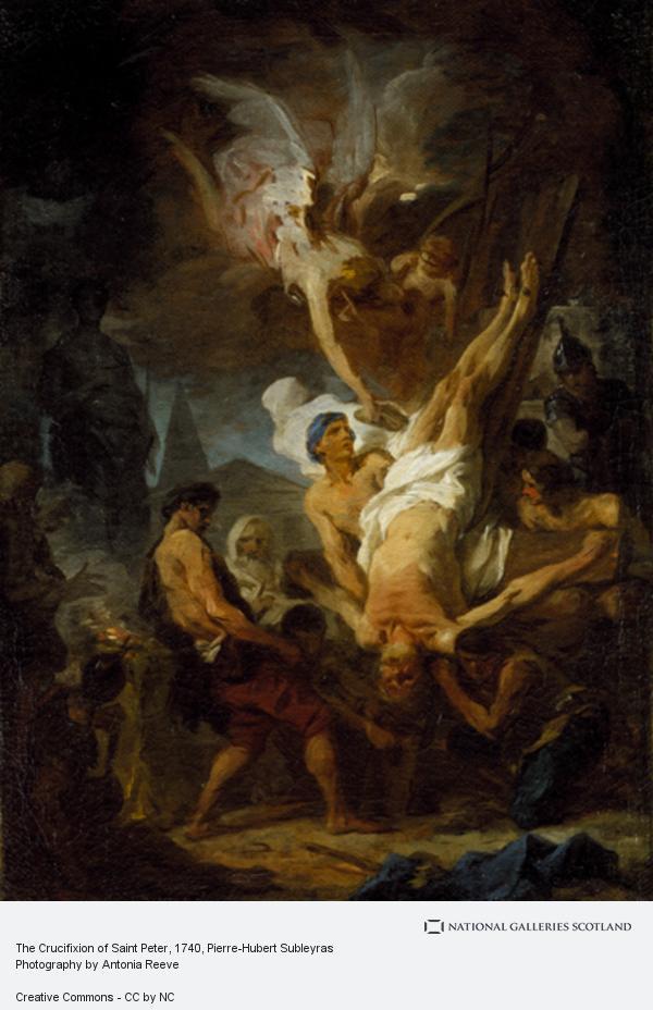 Pierre-Hubert Subleyras, The Crucifixion of Saint Peter