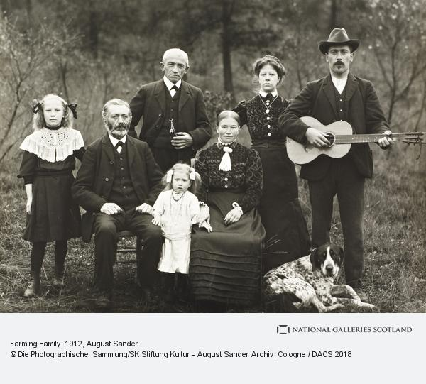 August Sander, Farming Family, 1912 (1912)