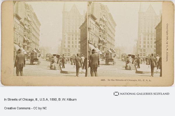 B. W. Kilburn, In Streets of Chicago, Ill., U.S.A
