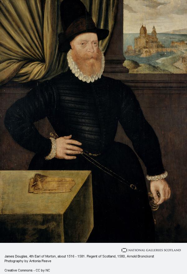 Arnold Bronckorst, James Douglas, 4th Earl of Morton, about 1516 - 1581. Regent of Scotland (About 1580)