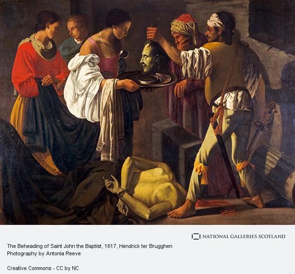 Hendrick ter Brugghen, The Beheading of Saint John the Baptist