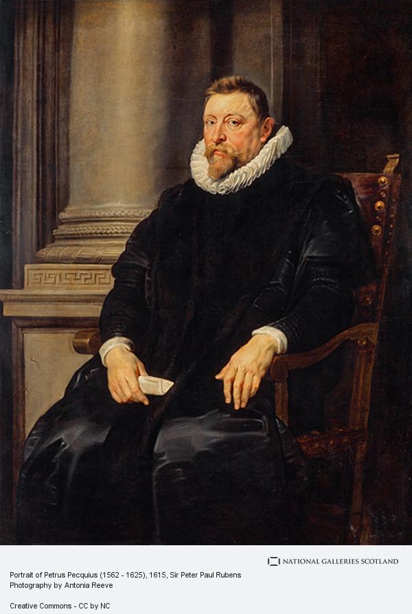 Sir Peter Paul Rubens, Portrait of Petrus Pecquius (1562 - 1625)