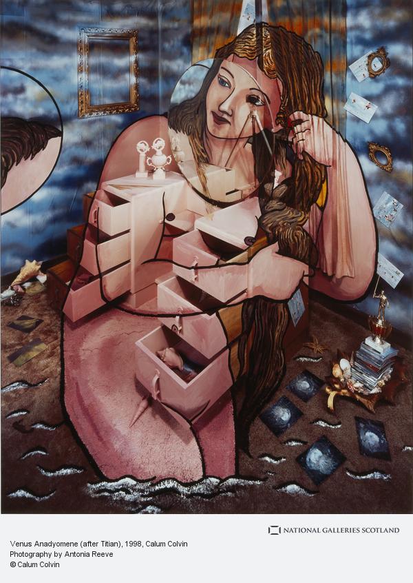 Calum Colvin, Venus Anadyomene (after Titian)