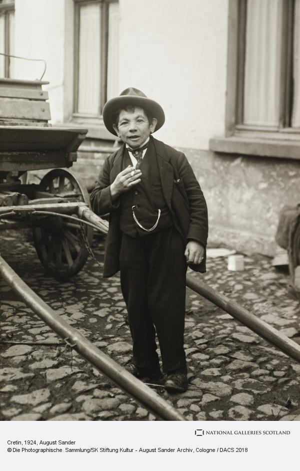 August Sander, Cretin, c.1924 (about 1924)