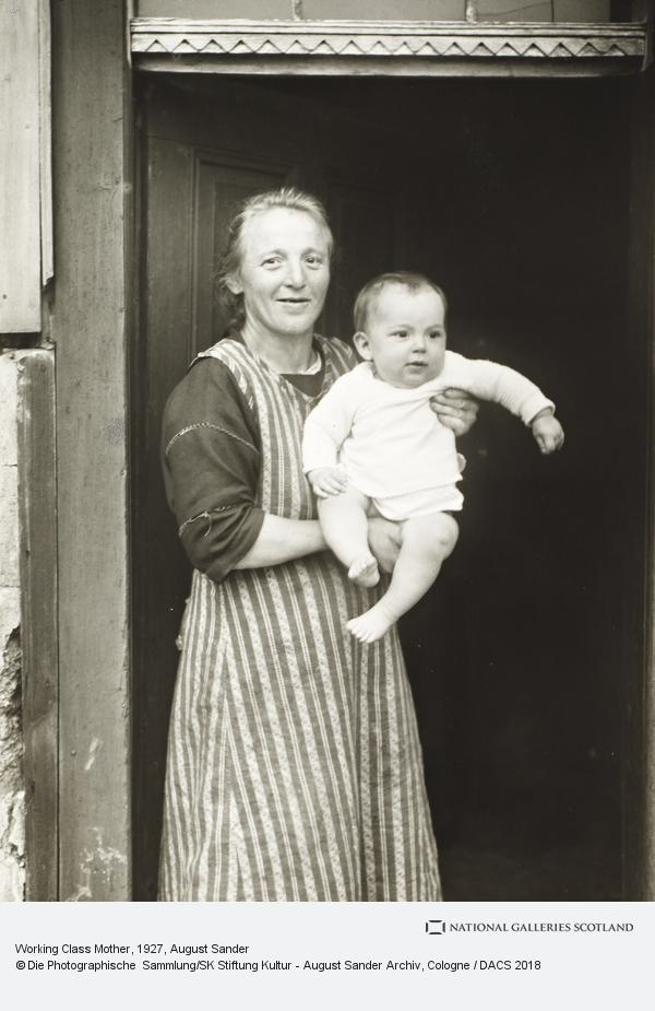 August Sander, Working Class Mother, 1927 (1927)