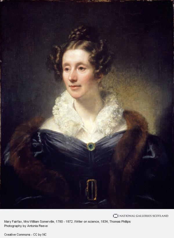Thomas Phillips, Mary Fairfax, Mrs William Somerville, 1780 - 1872. Writer on science