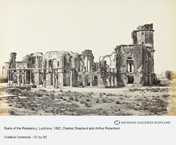 Charles Shepherd and Arthur Robertson, Ruins of the Residency, Lucknow