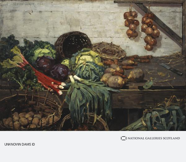 William York MacGregor, The Vegetable Stall (1884)
