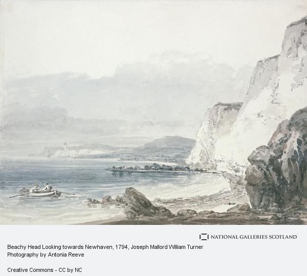 Joseph Mallord William Turner, Beachy Head Looking towards Newhaven