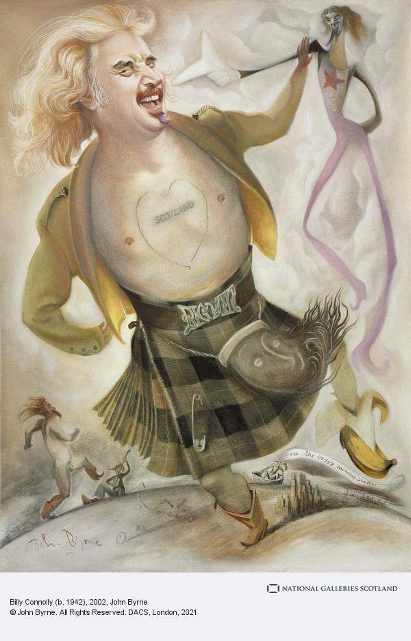 John Byrne, Billy Connolly (b. 1942) (2002)