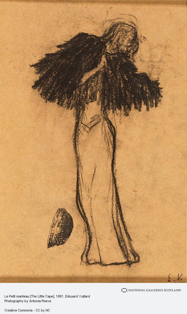 Edouard Vuillard, Le Petit manteau [The Little Cape] (About 1891)