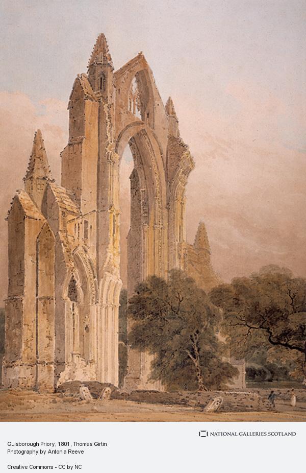 Thomas Girtin, Guisborough Priory