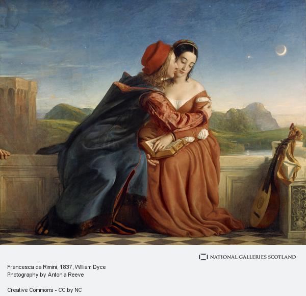 William Dyce, Francesca da Rimini (1837)