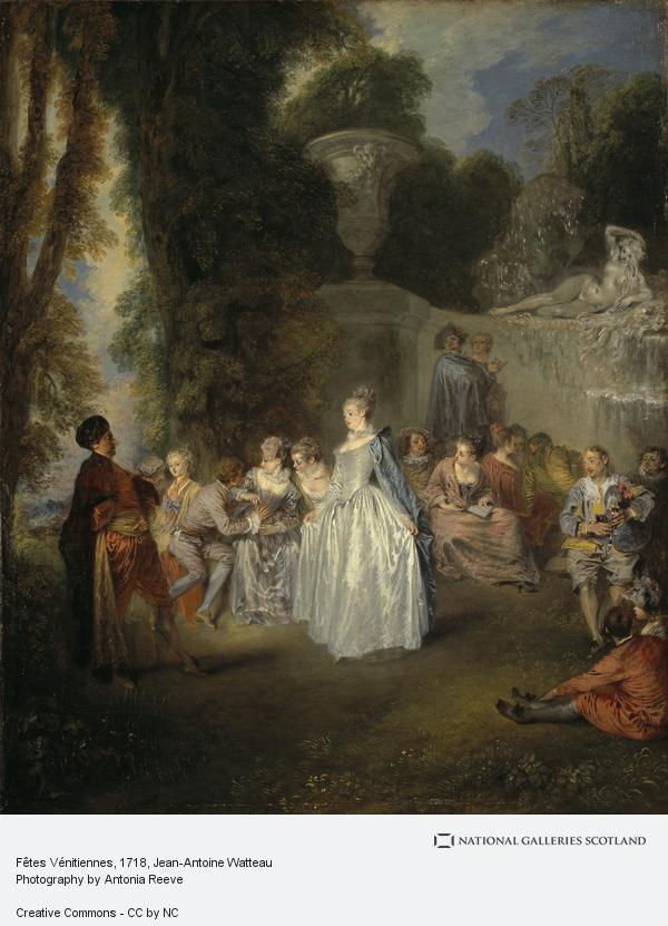 Jean-Antoine Watteau, Fêtes Vénitiennes (1718 - 1719)