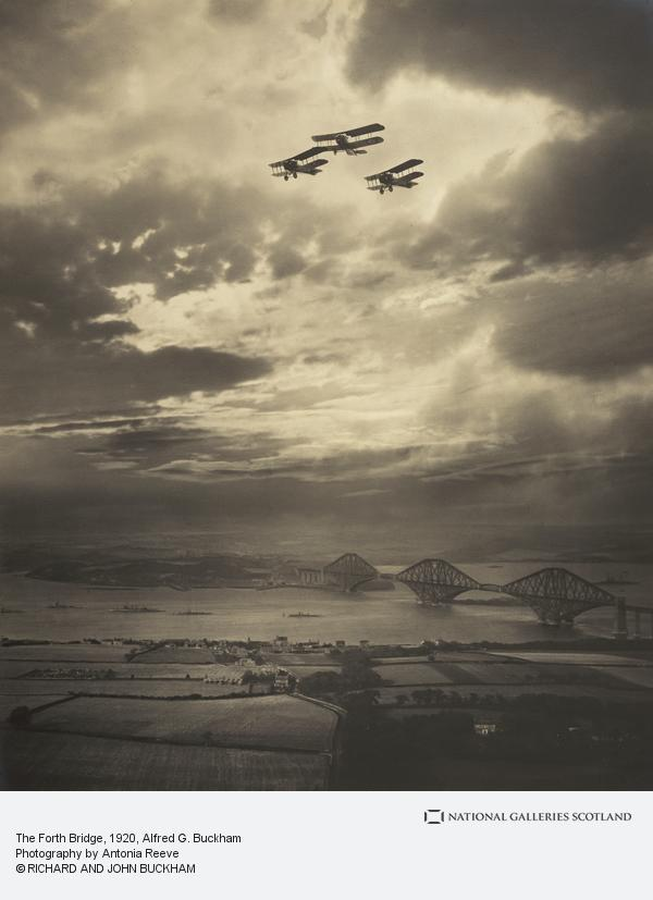 Alfred G. Buckham, The Forth Bridge (About 1920)