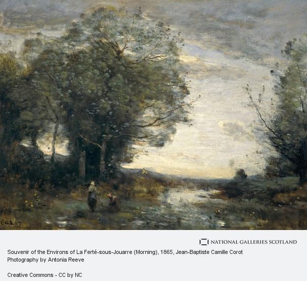Jean-Baptiste Camille Corot, Souvenir of the Environs of La Ferté-sous-Jouarre (Morning)