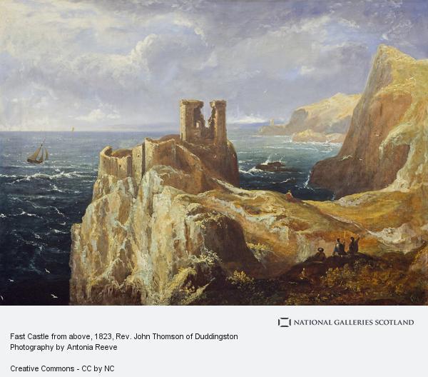 Rev. John Thomson, Fast Castle from above