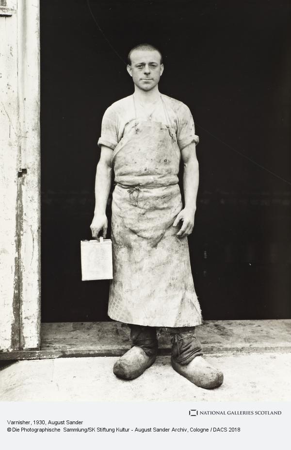 August Sander, The Varnisher, about 1930 (about 1930)