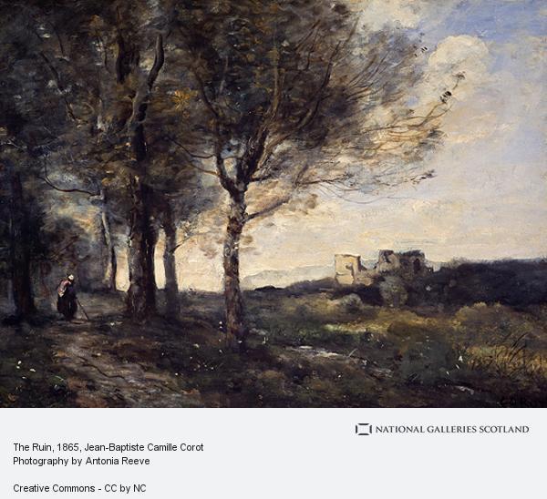 Jean-Baptiste Camille Corot, The Ruin