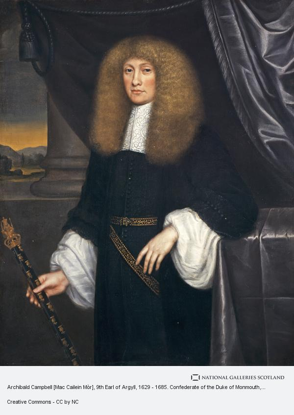 L. Schuneman, Archibald Campbell [Mac Cailein Mòr], 9th Earl of Argyll, 1629 - 1685. Confederate of the Duke of Monmouth