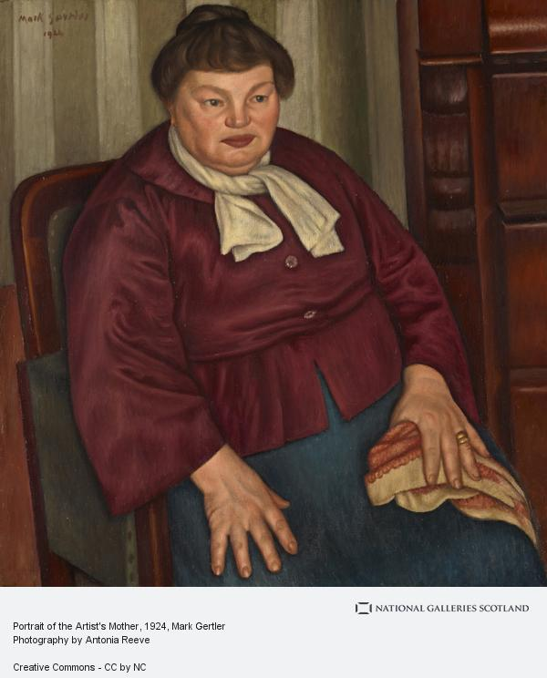 Portrait of the Artist's Mother | National Galleries of Scotland