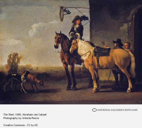Abraham van Calraet, The Start