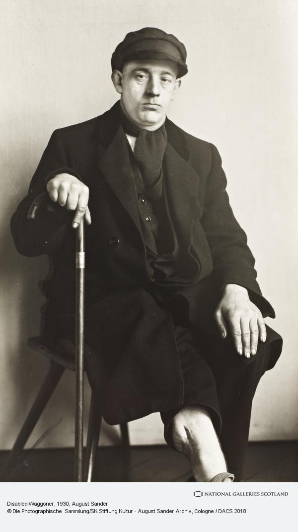 August Sander, Disabled Waggoner, 1930 (1930)