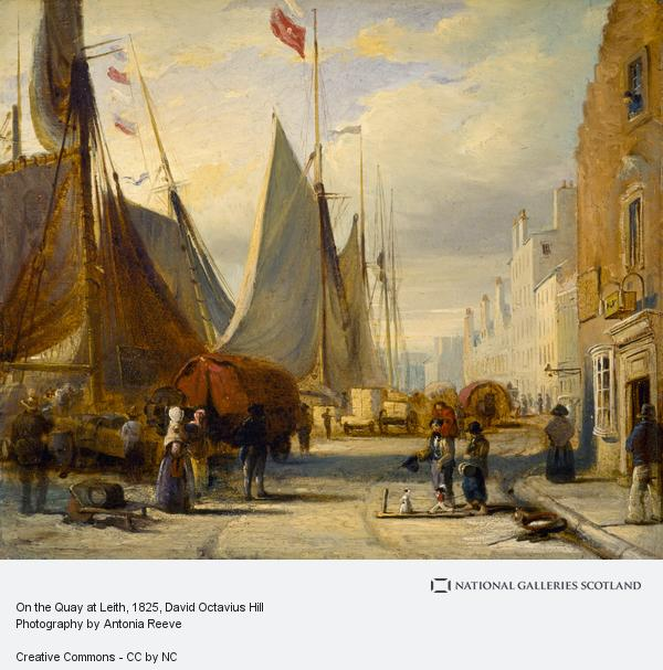 David Octavius Hill, On the Quay at Leith ()