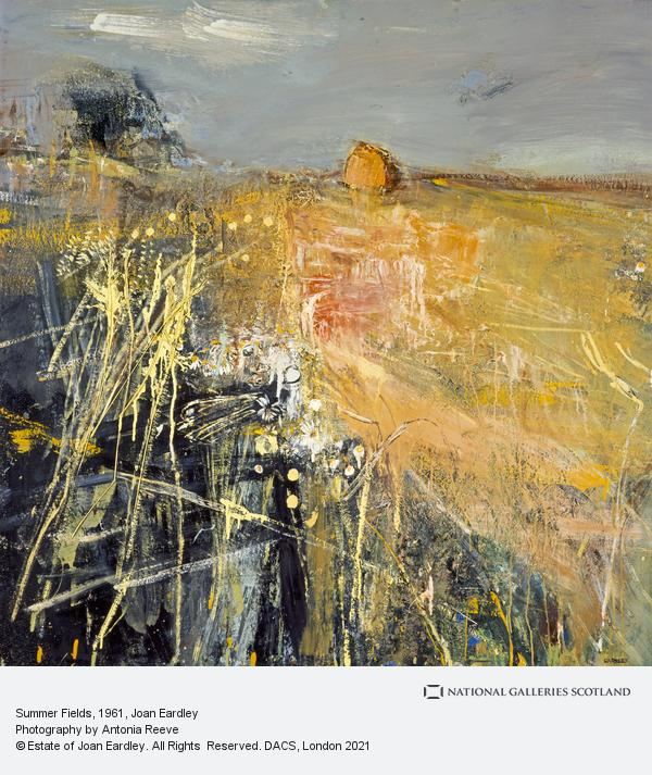 Joan Eardley, Summer Fields (About 1961)