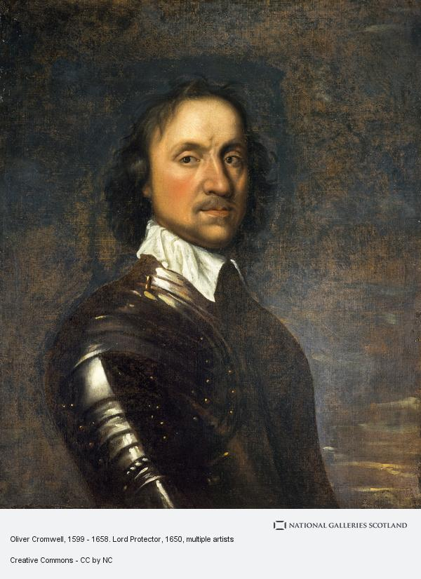 The Lord Protector Cromwell