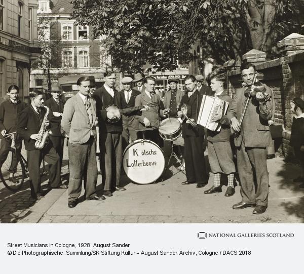 August Sander, Street Musicians in Cologne, 1928 (1928)