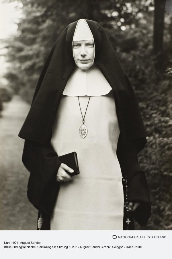 August Sander, Nun, 1921 (1921)