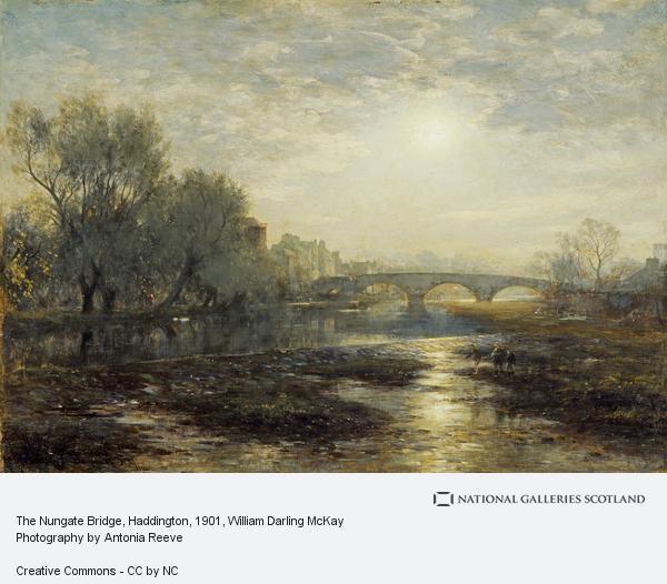 William Darling McKay, The Nungate Bridge, Haddington (1901)