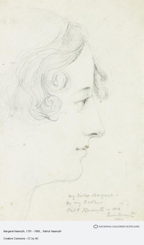 Patrick Nasmyth, Margaret Nasmyth, 1791 - 1869