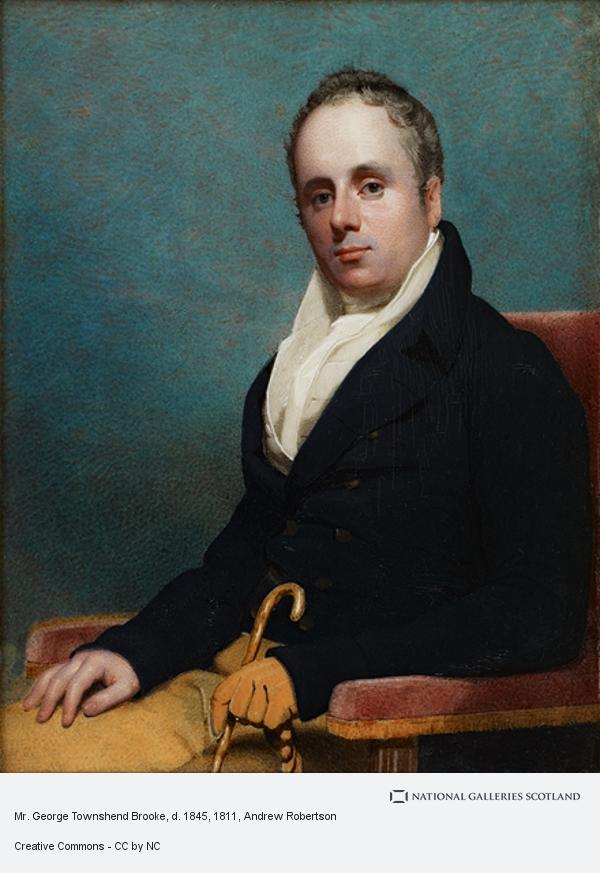 Andrew Robertson, Mr. George Townshend Brooke, d. 1845