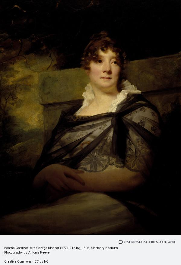 Sir Henry Raeburn, Fearne Gardiner, Mrs George Kinnear (1771 - 1846)
