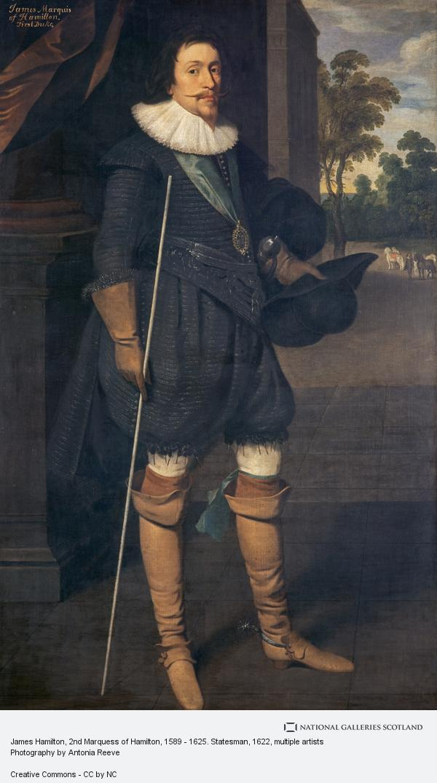 Unknown, James Hamilton, 2nd Marquess of Hamilton, 1589 - 1625. Statesman (1622)