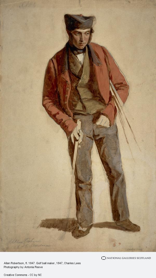 Charles Lees, Allan Robertson, fl. 1847. Golf ball maker