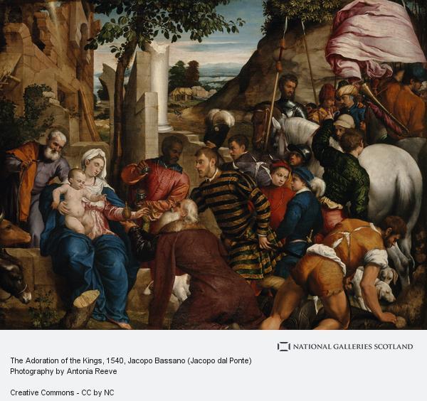 Jacopo Bassano (Jacopo dal Ponte), The Adoration of the Kings