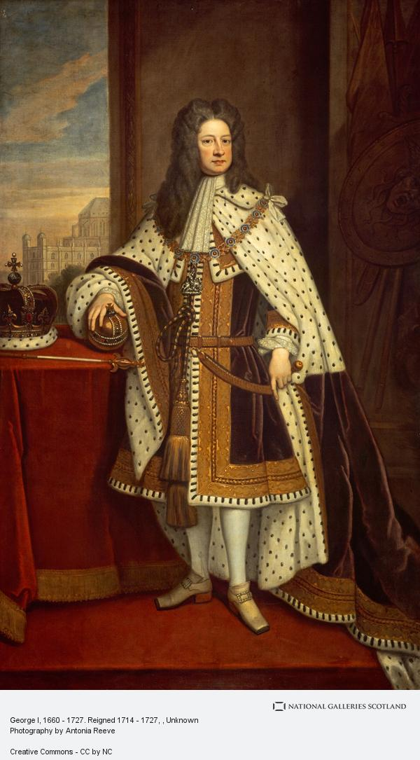 Unknown, George I, 1660 - 1727. Reigned 1714 - 1727