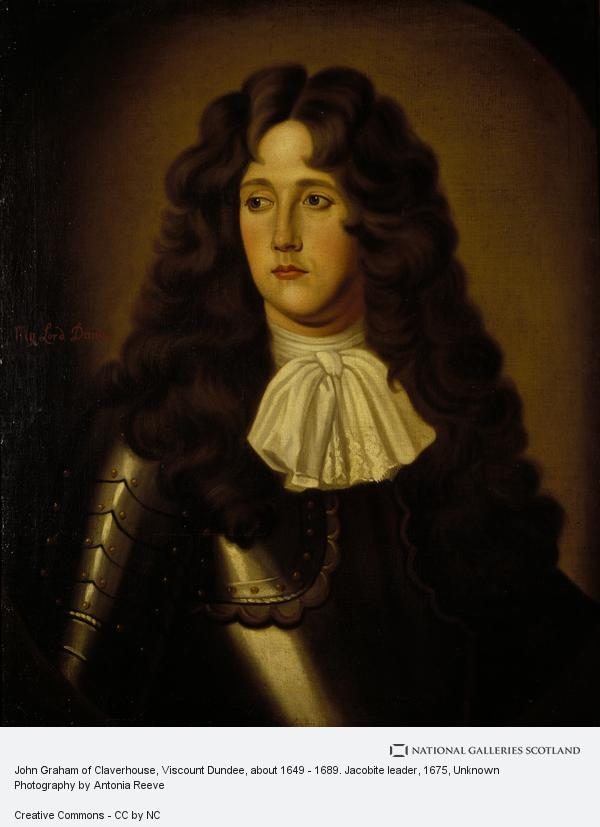 Unknown, John Graham of Claverhouse, Viscount Dundee, about 1649 - 1689. Jacobite leader (About 1675)