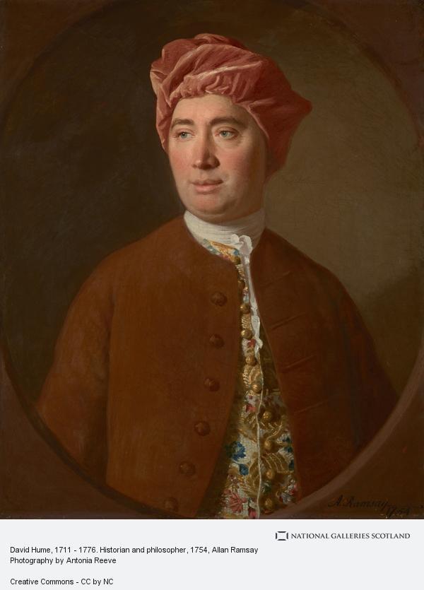 Allan Ramsay, David Hume, 1711 - 1776. Historian and philosopher (1754)
