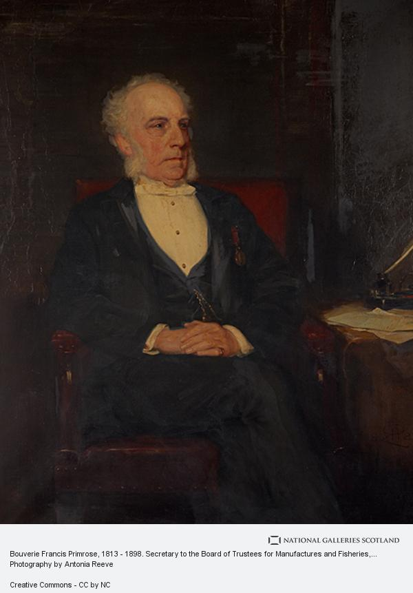 Robert Herdman, Bouverie Francis Primrose, 1813 - 1898. Secretary to the Board of Trustees for Manufactures and Fisheries