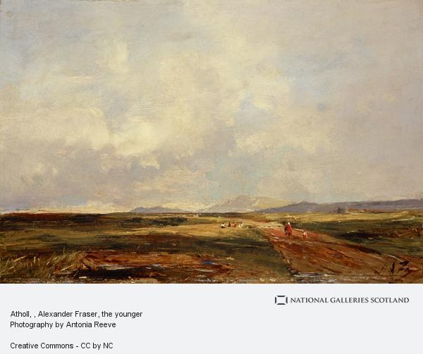 Alexander Fraser, the younger, Atholl